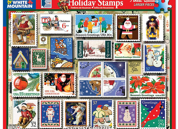 White Mountain Holiday Stamps