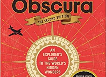 """""""Atlas Obscura"""" Hardcover"""