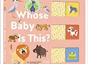 Whose Baby is This? (A Slide-and-Learn Board Book)