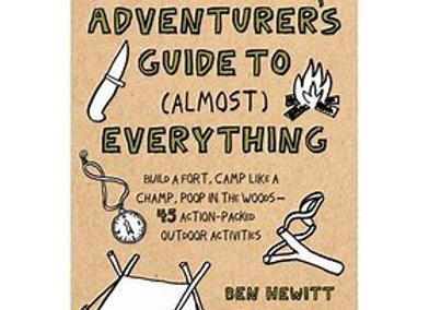 """The Young Adventures Guide To Almost Everything"" Hardcover"
