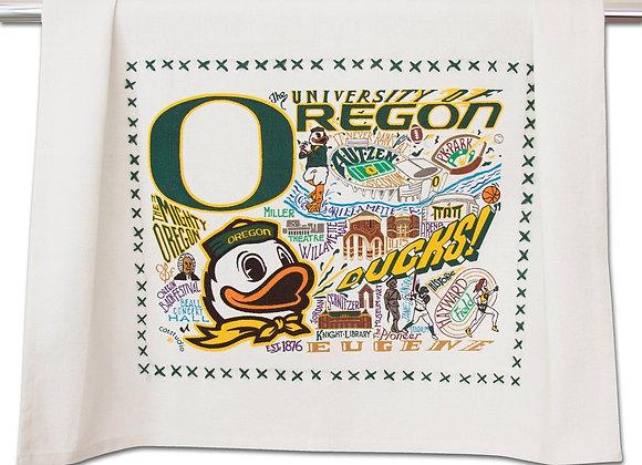 University Of Oregon Dish Towel