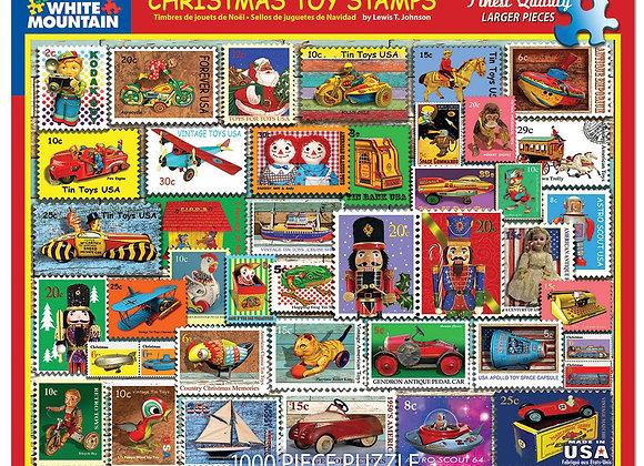 White Mountain Christmas Toy Stamps