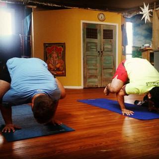 Strong men of Yoga
