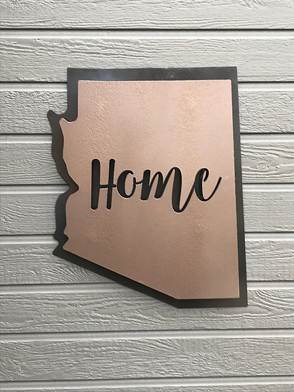 3D ARIZONA-OUTDOOR CUSTOM METAL WALL DECOR