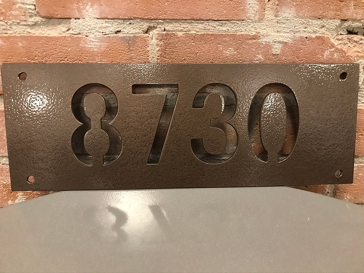 Personalized Metal Number Sign-Address Numbers-Personalized Number