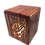 Thumbnail: PRAYING HANDS LIGHTED WOODEN BURIAL URN