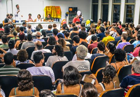 Lançamento do programa movimento 'Niterói por Nós' lota auditório da UFF