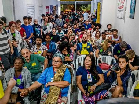 Niterói encerra plenárias para o Congresso do PSOL com casa cheia de novo