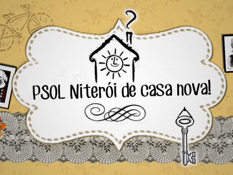 PSOL Niterói terá debate coletivo, mutirão e sarau para inauguração da nova sede