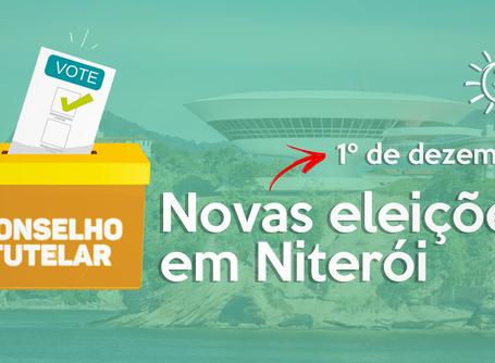 Novas eleições para Conselho Tutelar em Niterói dia 1º de dezembro