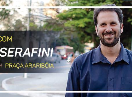 Campanha coletiva de Serafini para prefeito começará com caminhada pelas ruas de Niterói