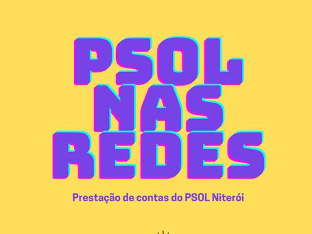PSOL Niterói estreia, no dia 3 de maio, prestação de contas online