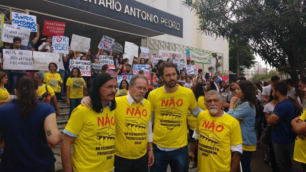 Bancada do PSOL Niterói manifestou apoio ao ato