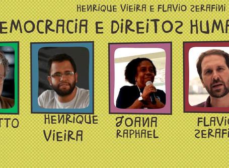 """Debate """"Fé, Democracia e Direitos Humanos"""" com Frei Betto"""