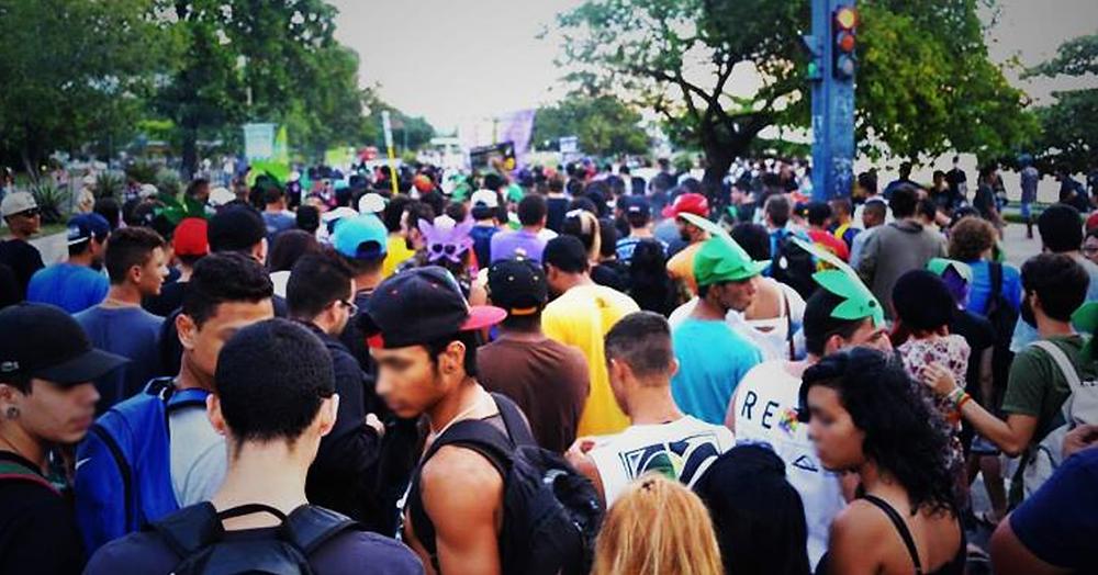 Marcha da Maconha Niterói em 2014 | Foto: Andrew Costa