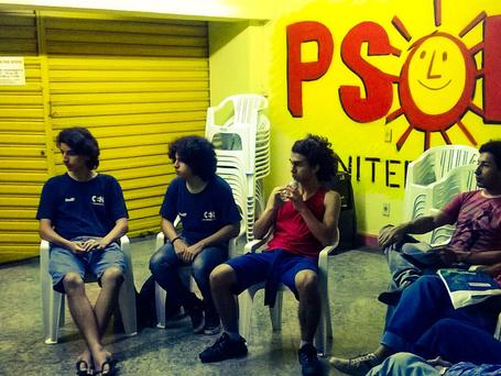 Apresentação do PSOL quarta (09) às 18:30h na nova sede