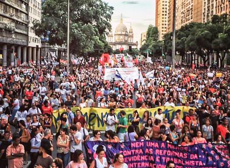#15M | Milhares vão às ruas contra Reforma da Previdência por todo o Brasil