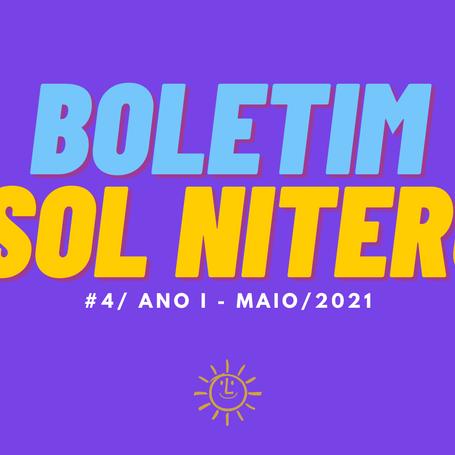 BOLETIM #4 - ANO I,  maio 2021   PSOL NITERÓI