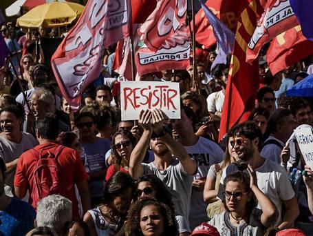 Greve geral contra as reformas e 'Fora Temer!'