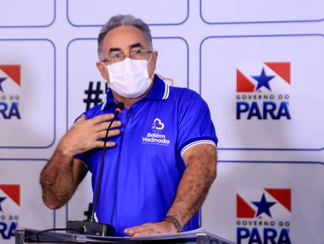 Governada pelo PSOL, Belém será primeira capital a vacinar todo grupo de risco etário