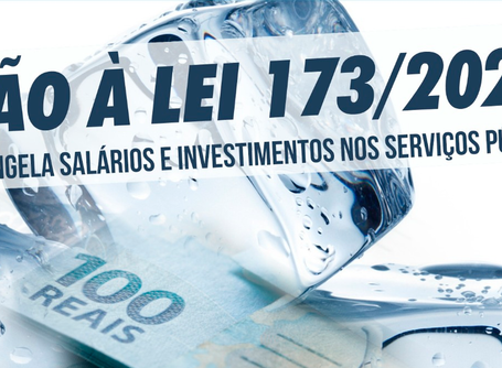 Não ao congelamento de salários e investimentos nos serviços públicos