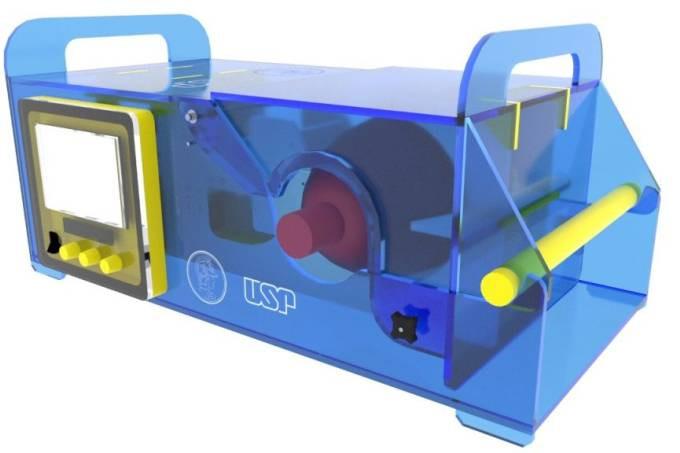 Respirador projetado por pesquisadores da USP possui custo unitário de R$1 mil e pode ser produzido em 2h