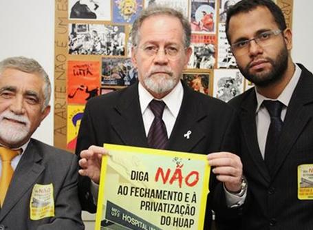 Vereadores do PSOL Niterói manifestam apoio à campanha contra EBSERH na UFF