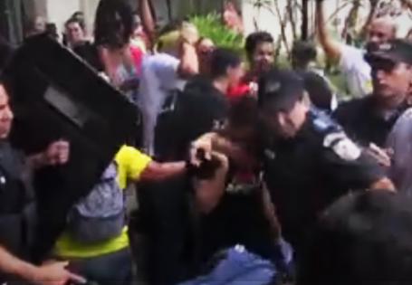PSOL repudia autoritarismo e violência da reitoria para aprovar EBSERH na UFF