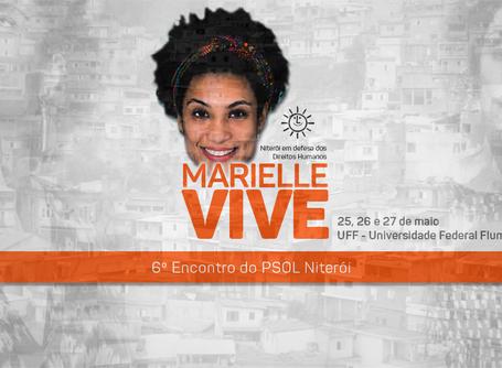 6º Encontro do PSOL Niterói acontece dias 25, 26 e 27 de maio