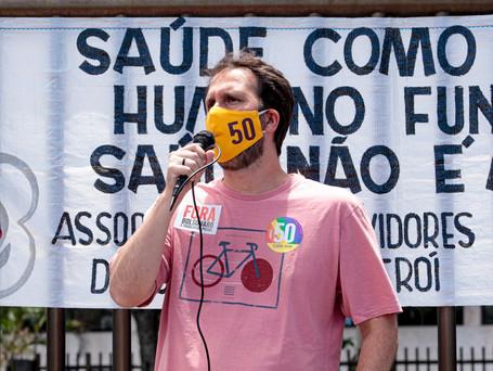 Serafini cobra ação da prefeitura contra aumento da covid em Niterói