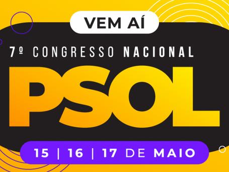 7º Congresso do PSOL: hoje é último dia para definir opção de militância