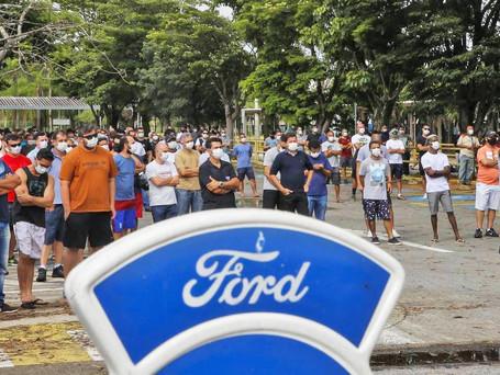Solidariedade aos trabalhadores demitidos da Ford