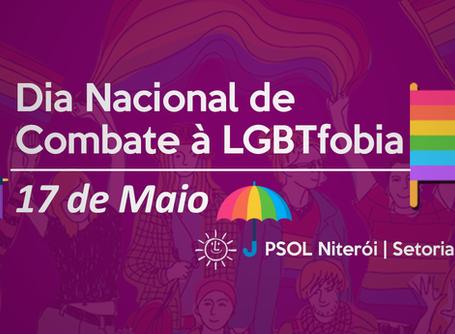 17 de Maio - Dia Nacional de Combate à LGBTfobia