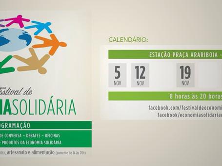 Niterói realiza Festival de Economia Solidária durante novembro e dezembro
