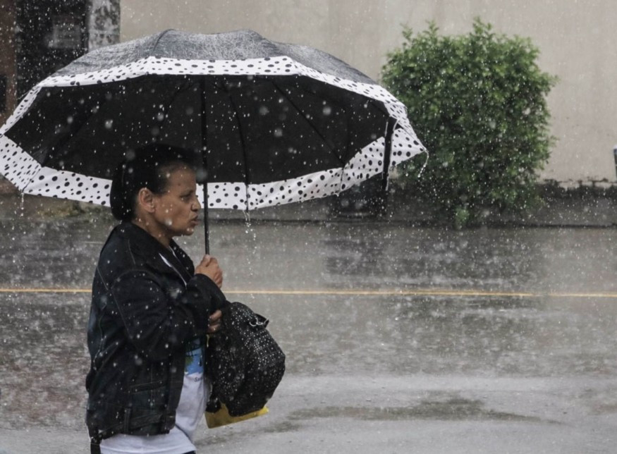Nove anos depois a cidade recebe médias pluviométricas similares às de 2010 | Foto de Eduarda Hillebrandt via Plantão Enfoco