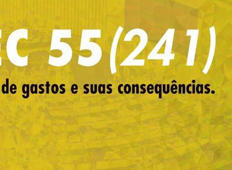 Roda de conversa sobre a PEC 55 (241) quinta (17) às 19h na sede