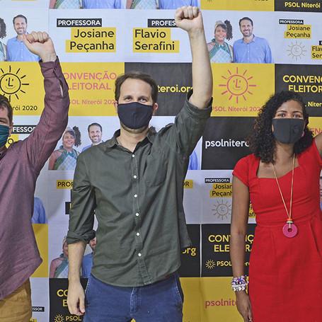 Convenção eleitoral confirma Flavio e Jô pré-candidatos à prefeitura