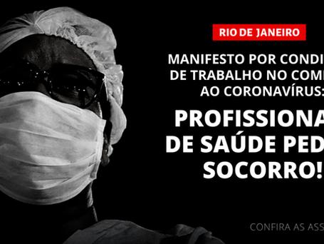 Manifesto em defesa dos profissionais da saúde