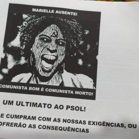Ameaça nazifascista ao PSOL Niterói é ataque à democracia e direitos humanos