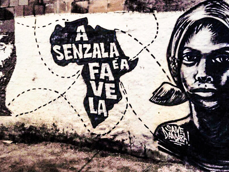 Dia da Consciência Negra do Morro do Estado teve grafiti e diversas outras atividades culturais