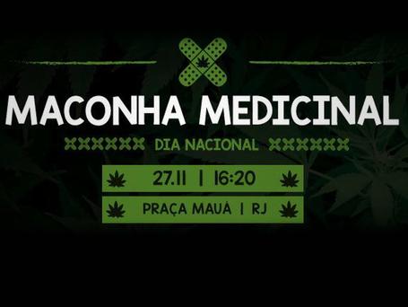 Dia Nacional da Maconha Medicinal terá aula pública e atividades culturais no centro do Rio