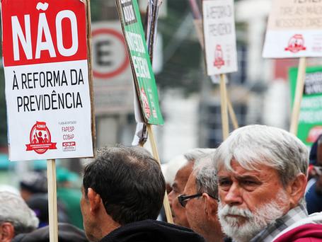 15M - Centrais sindicais do Rio convocam ato unificado contra Reforma da Previdência