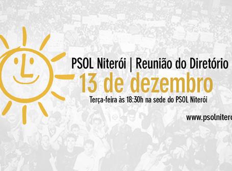 Diretório Municipal se reunirá terça (13) às 18:30h na sede