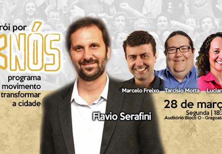 Niterói por Nós - Lançamento de programa movimento dia 28 de março na UFF