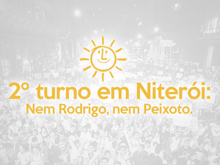 2º turno em Niterói: nem Rodrigo, nem Peixoto