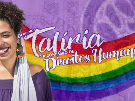 Campanha reivindica Talíria na Comissão de Direitos Humanos em Niterói