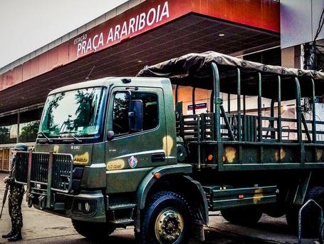 Forças armadas no Rio: muito dinheiro e repressão para não resolver violência