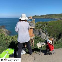 Painting in North Devon