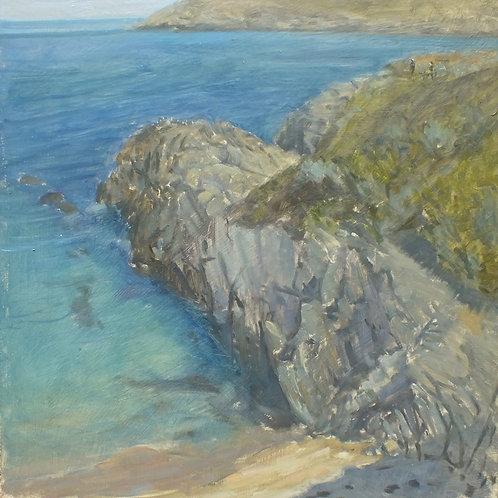 Barricane beach blues, 40cm x 30cm