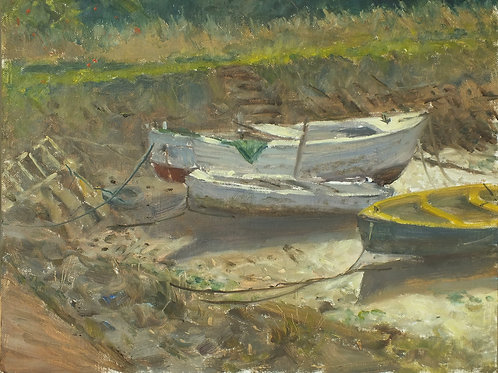 Old Boats In The Sunshine